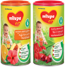 Baby Instant Tea Drink Fruit & Raspberry Milupa 200g UK - $8.49