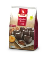 WEISS Dark Chocolate gingerbread apricot filled cookies 150g FREE SHIPPING - $8.66