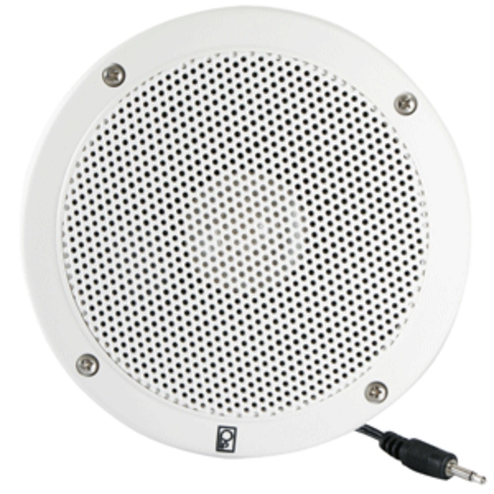 Poly-Planar 5 VHF Extension Speaker (Single) - Flush Mount - White