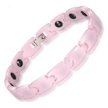 Bio Energy Ceramic Bracelet Bangle Hematite Health Chain Charms for Women Jewelr - $26.27
