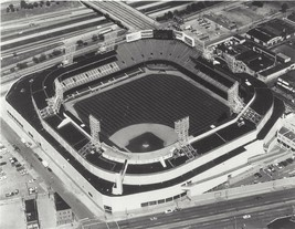 TIGER STADIUM 8X10 PHOTO BASEBALL MLB PICTURE DETROIT TIGERS AERIAL VIEW - $3.95