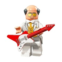 1 Pcs Super Heroes Figure Alfred With Guitar Fit Lego Building Block Min... - $6.99