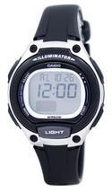 Casio Illuminator Dual Time Alarm Digital Lw-203-1av Lw203-1av Women's W... - $41.87 CAD