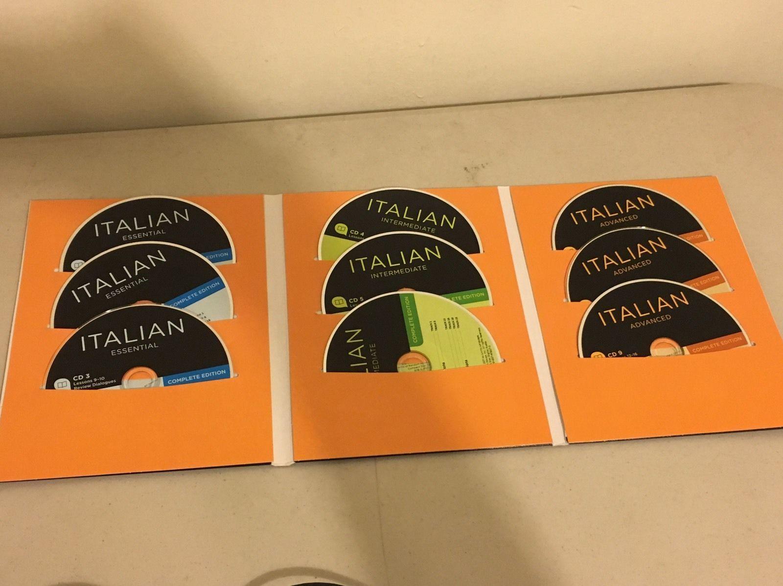 Complete Set Living Language Italian (2011, All Media Included, Like New)