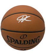 Giannis Greek Freak Antetokounmpo Bucks Signed Authentic Spalding Basket... - $366.29