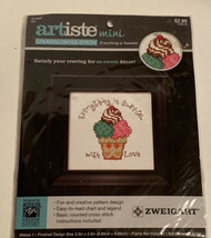 Artiste Zweigart Mini Counted Cross-Stitch  - Everything is Sweeter - $4.50