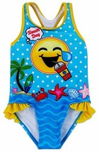 Dreamwave Toddler Girl Emojination One Piece Swimsuit 3t - $13.04
