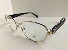 New Versace Mod.12B46 1332 Gold 52mm Women's Eyeglasses Frame Italy #2 - $129.99