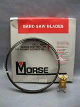 "Morse 12' 6"" X 1/2"" 04S HB Carbon Steel Hard Back Band Saw Blade - $39.10"