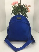 Michael Kors Backpack Bag Small Lightweight Blue Nylon Zip B2P - $98.95