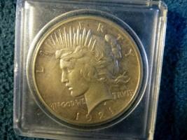 RARE 1921 PEACE DOLLAR IN BU CONDITION - $198.00