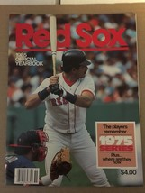 Boston Red Sox 1985 Official Yearbook Roger Clemens Jim Rice BOGGS NM Co... - $9.09