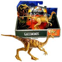 Year 2017 Jurassic World 7 Inch Long Dinosaur Figure - GALLIMIMUS - $27.99