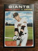 x1 2020 Topps Heritage Base #133 Buster Posey San Francisco Giants Baseb... - $1.99