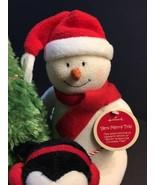 Hallmark Jingle Pals 2006 Very Merry Trio Penguins Tree Snowman w/ Tag R... - $29.39