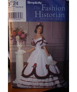 Sewing Pattern Civil War Era Costume 2 piece(1860-1865) Adult Sizes 6-12... - $15.99