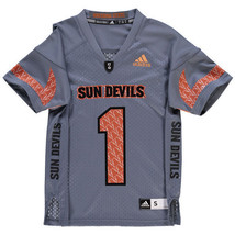 ARIZONA STATE SUN DEVILS JERSEY -ADIDAS YOUTH-ALL SIZES-BRAND NEW-NWT RE... - $24.99