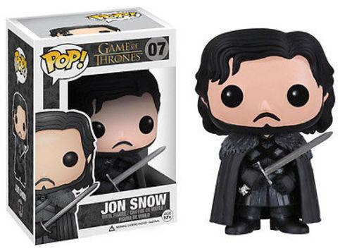 Funko Pop Game Of Thrones Jon Snow Nights Watch Longclaw Vinyl Figure #07 3090