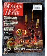Woman and Home * January 1990 - $2.50