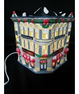VINTAGE 1993 COCA COLA LIGHTED TOWN SQUARE COLLECTION~PLAZA DRUGS~ NIB - $19.77