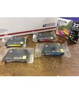 Genuine OEM Epson 220 T220120-BCS Black+Color (C,M,Y) 4-Pack Ink; Exp:01... - $32.71