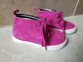 GAP Kids Girls Purple Sneakers Size 7 - $5.50