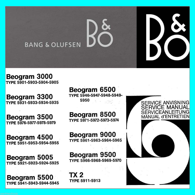 biggest bang olufsen b o service manuals and 50 similar items rh bonanza com