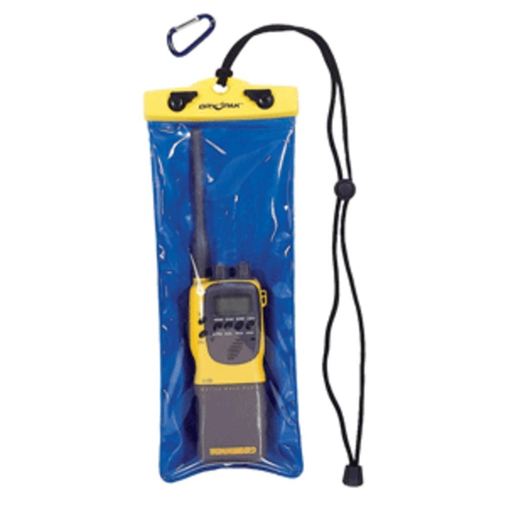 Dry Pak VHF Radio Case - Clear/Blue - 5 x 12