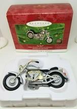 Hallmark Keepsake HARLEY DAVDISON Fat Boy Motorcycle Milestones 2000 Orn... - $10.99