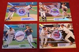 1998 Fleer Ultra Baseball Double Trouble Lot Of 4. - $2.00