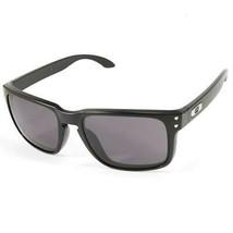 New Oakley Sport Holbrook Matte Black w/Warm Grey  OO9102-01 - $117.55