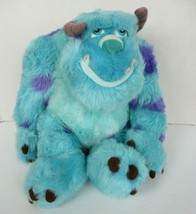 Disney Parks Monsters Inc Sully Sullivan Plush 9 Inch Sitting Seated  - $19.79