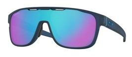 Oakley Crossrange OO9387 1431 Shield sunglasses Black Ink Prizm Sapphire - $98.99