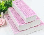 100 pcs Hair Removal Depilatory paper Nonwoven Epilator Wax Strip Paper Roll Wax
