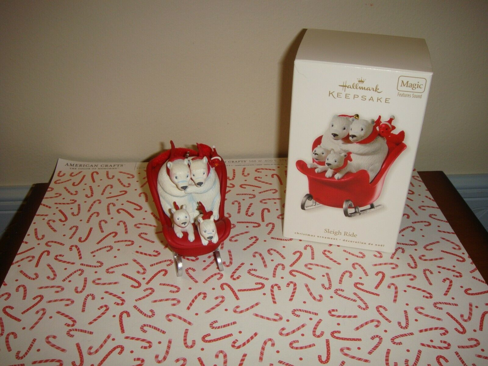 Primary image for Hallmark 2010 Sleigh Ride Ornament