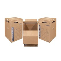 Bankers Box 7711001 SmoothMove Wardrobe Moving Boxes, Tall, 24 x 24 x 40 Inches  - $89.99+