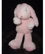 "PBK Pottery Barn Kids Pink Bunny Rabbit Plush Stuffed Animal 9"" Droopy Ears - $19.68"