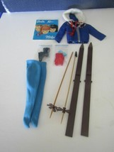 1963 Mattel Barbie # 948 Snow Queen Ski Outfit Complete Very Fine !! - $69.25