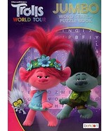 Trolls World Tour - Jumbo Word Search Puzzle Book [Paperback] DreamWorks... - £6.31 GBP