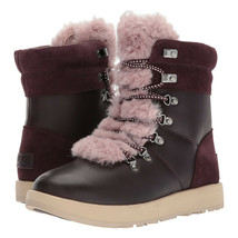 UGG Women's Viki Waterproof Port Bordeaux Boots Size 6.5 MSRP: $220.00 - $148.49