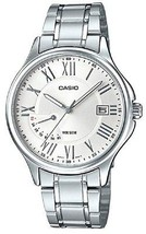 Casio Men's MTP-E116D-7AV Stainless Steel Watch With Link Bracelet - $79.55