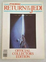 STAR WARS Return Of The Jedi Official Collector Edition Movie Program 19... - $9.64