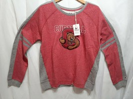ac Red Cornell Long Sleeve Shirt Womens Size Large - $13.36