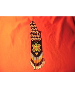 """22"""", Beaded, Native American Necklace, with Butterfly.  - $29.99"""