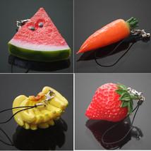 Keychain 1PC Mini Cute Fruit Keychain Simulation Fruit - $5.99+