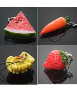 Keychain 1PC Mini Cute Fruit Keychain Simulation Fruit - $5.99