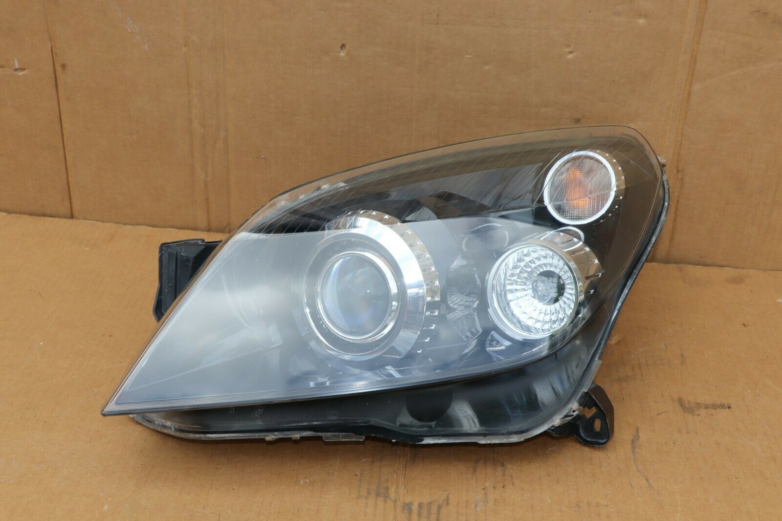 08-09 Saturn Astra Headlight Head Light Lamp Driver Left LH = POLISHED