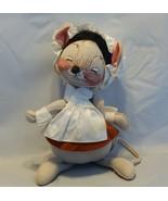 "1989 Annalee Dolls 12"" Lady Pilgrim Mouse - $17.82"