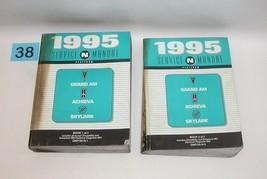 1995 Grand Am Achieve Skylark Factory Service Manual Set Good Used CONDITION#38 - $27.67