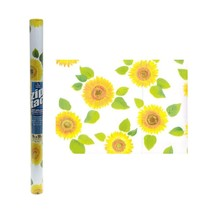 Zip Tac Sunflowers Contact Paper (9 ft x 18in) - $8.72